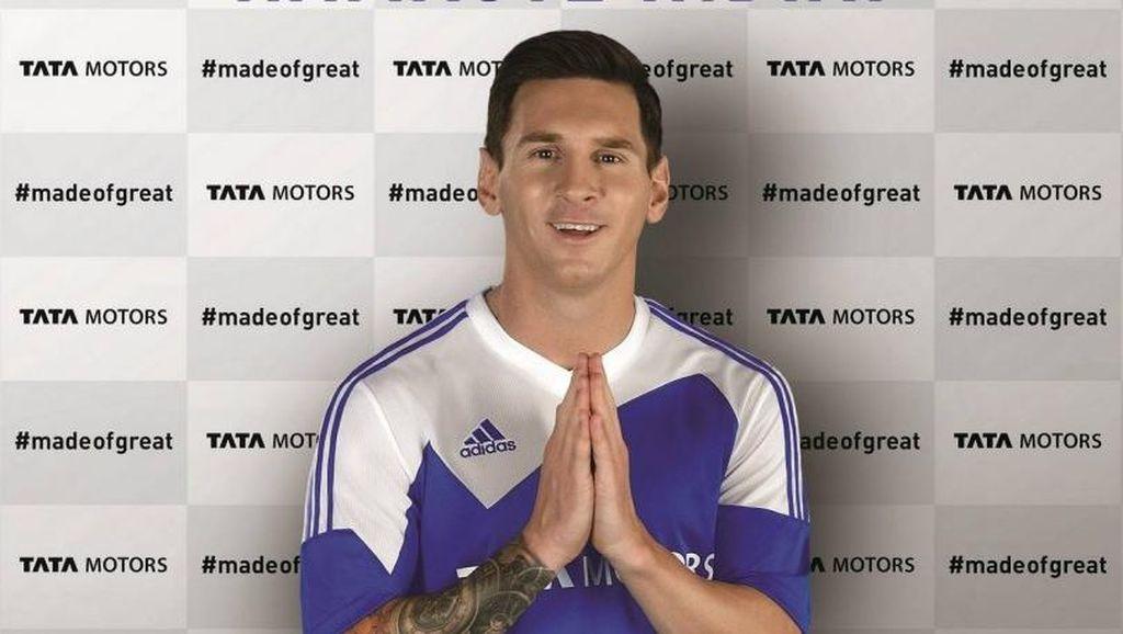 Pensiun dari Timnas, Messi Tetap Jadi Duta Merek Tata