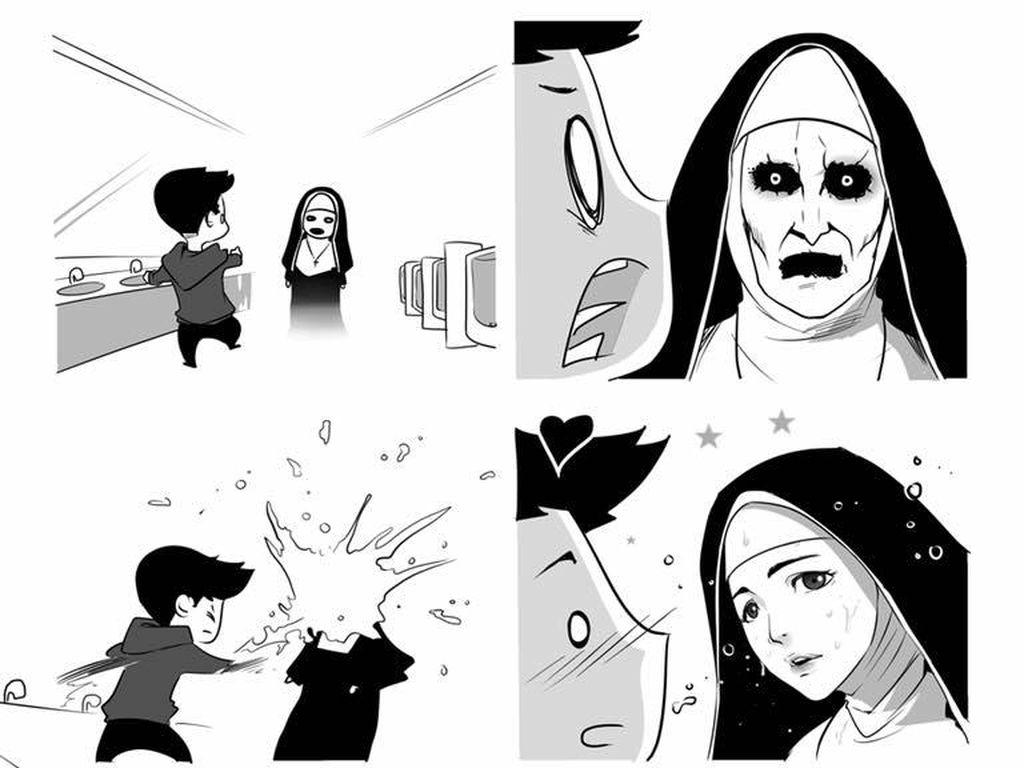 Heboh! Komik Valak Viral di Sosmed