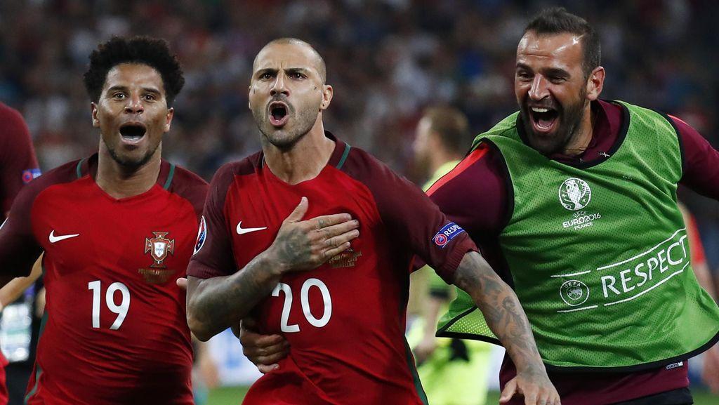 Portugal ke Semifinal Piala Eropa 2016