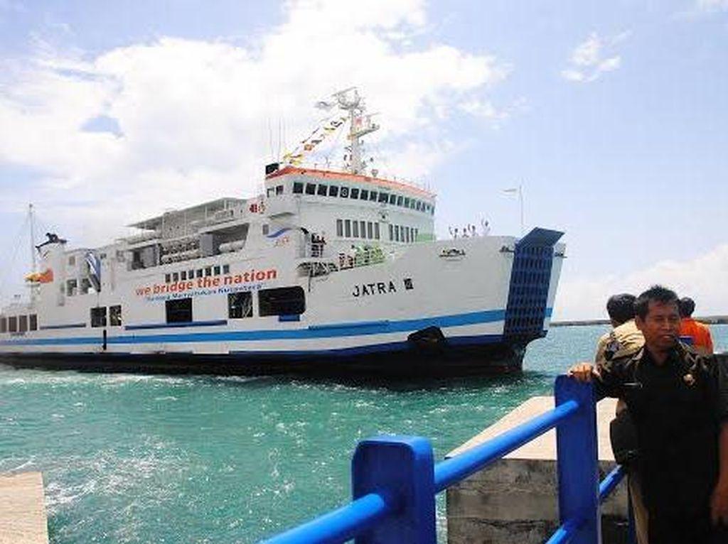 Antisipasi Corona, Thermo Scanner Dipasang di Pelabuhan Merak