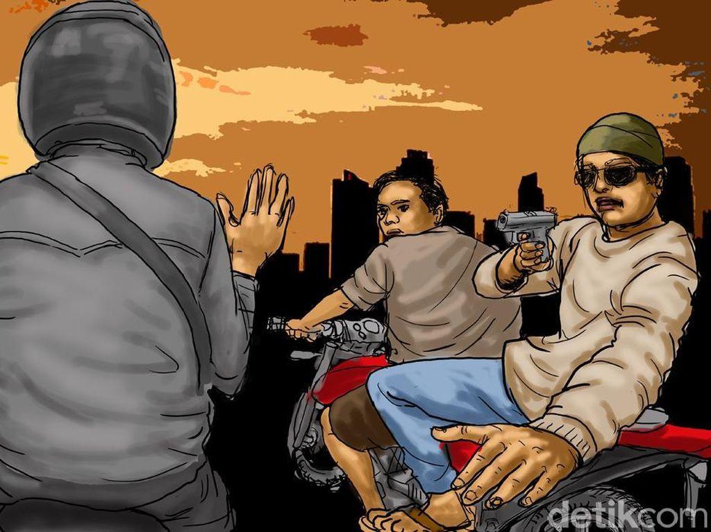Viral Dua Wanita di Cimahi Jadi Korban Begal, Polisi: Hoaks!