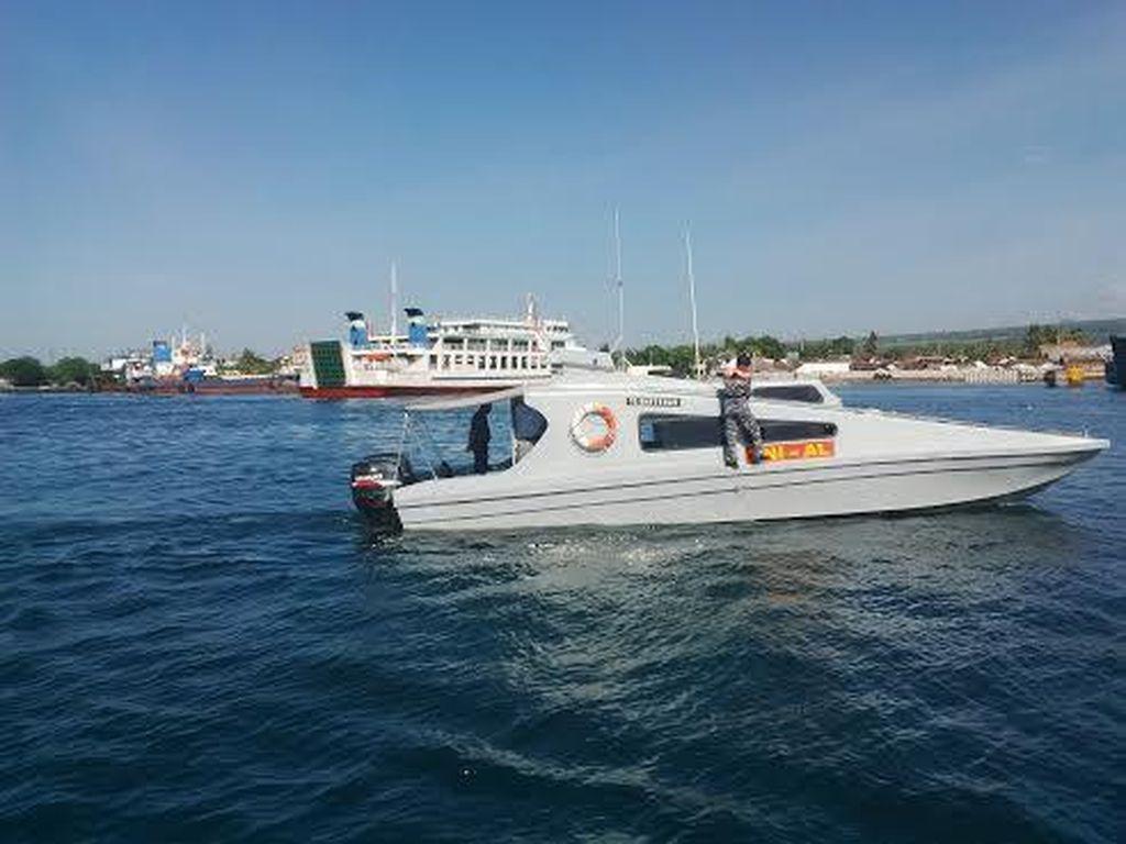 Kapal Petugas Gabungan Patroli Selat Bali