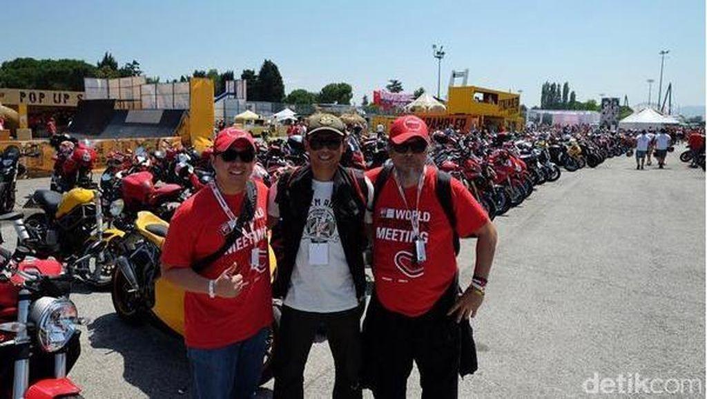 2 Ducatisti Indonesia Sumringah Hadiri World Ducati Week