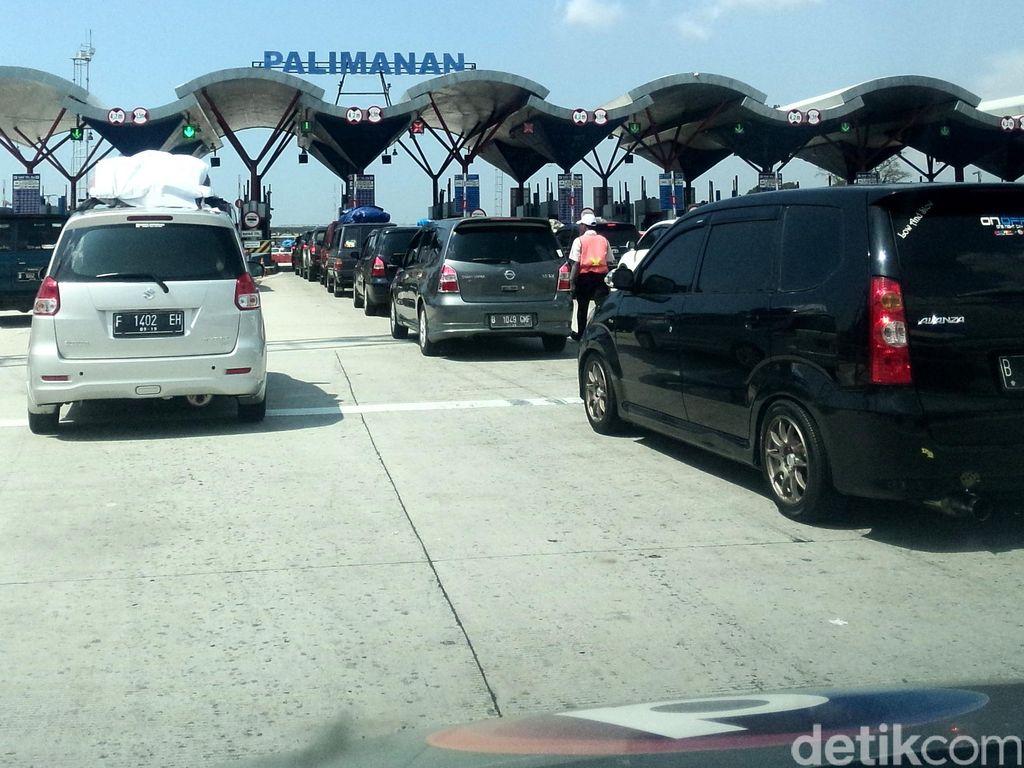 Kemacetan di Rest Area 207A