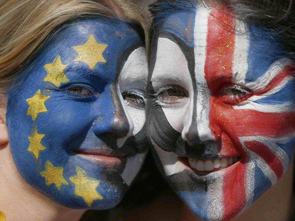 Warga Inggris Protes Hasil Referendum
