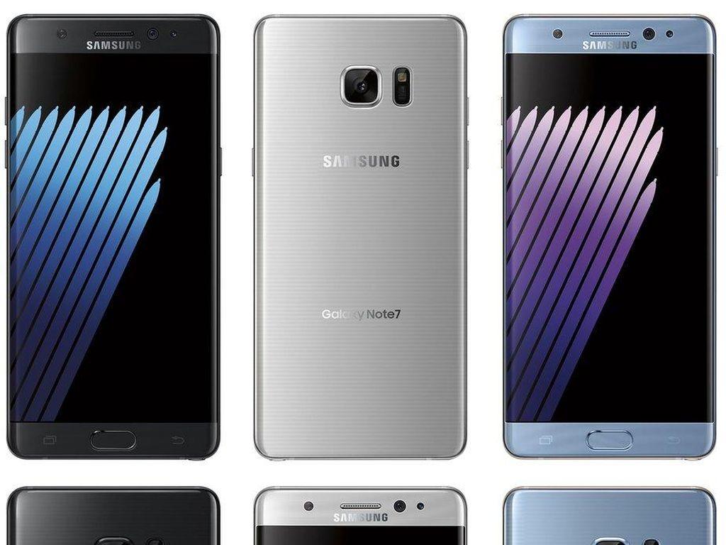 Galaxy Note 7 Punya Tiga Varian Warna