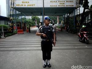 Pengamanan di Mapolda Metro Jaya Diperketat