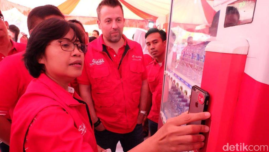 206 Posko Mudik Telkomsel Tersebar di Jabotabek Jabar