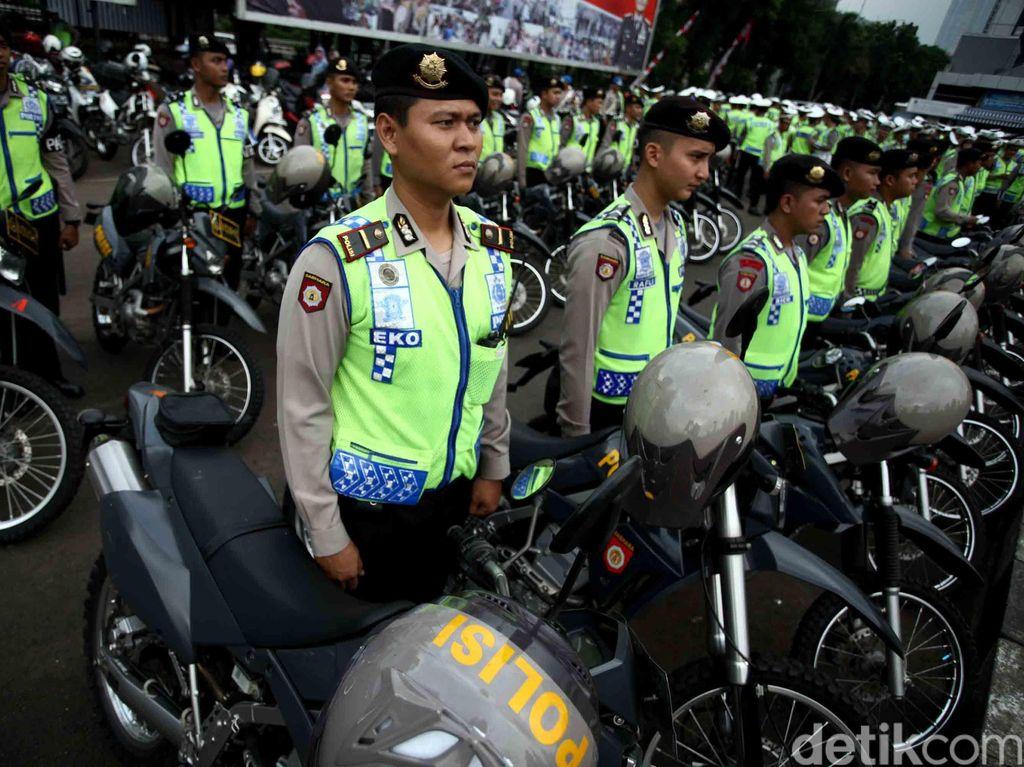 Polisi Kerahkan Ribuan Personel Amankan 2 Kegiatan Umat Islam Besok