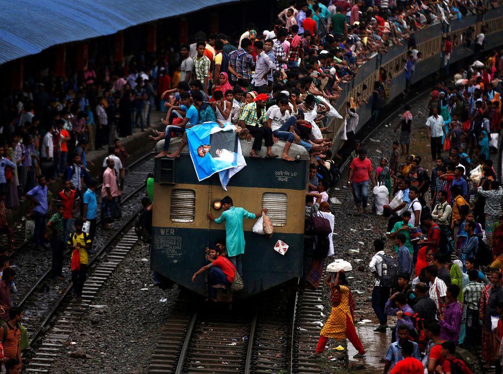 Mudik Nekat ala Warga Bangladesh