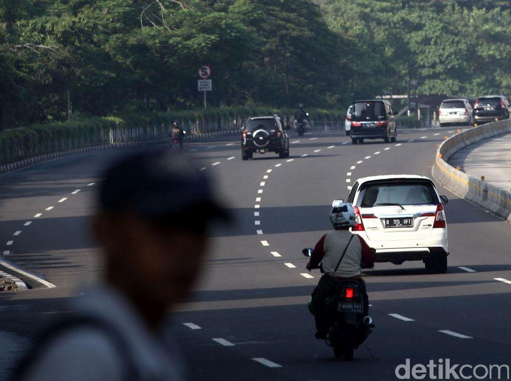 Jalanan Jakarta Lengang di Hari Lebaran