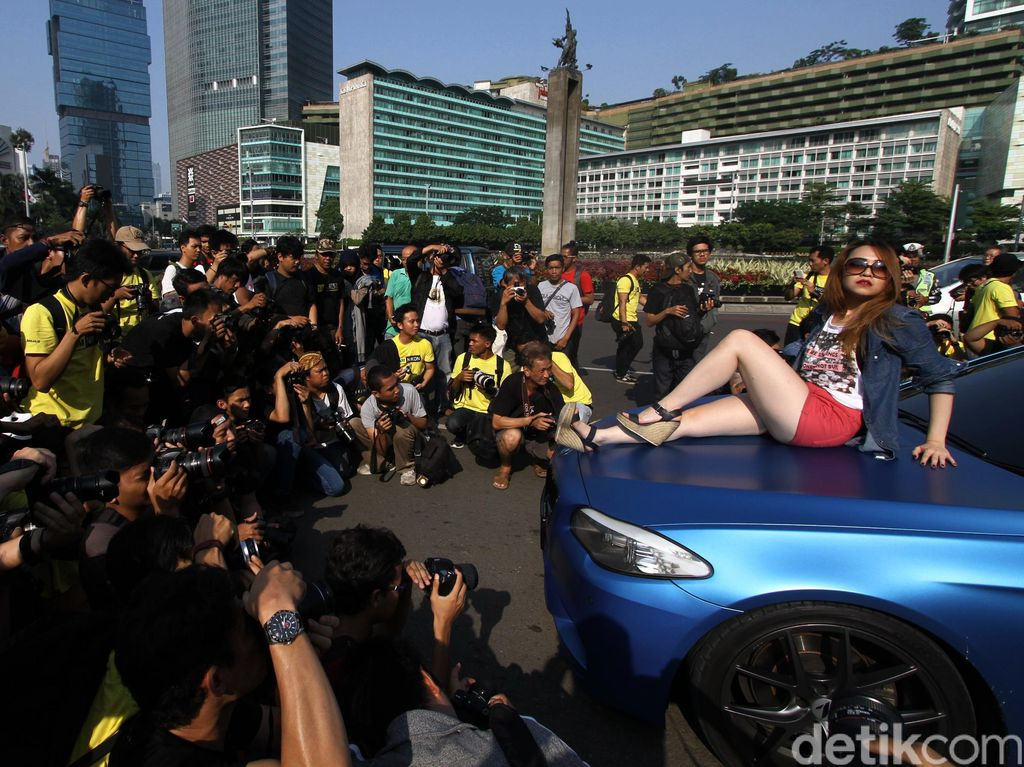 Memanfaatkan Lengangnya Jalanan Jakarta