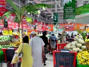 Hari Kedua Lebaran, Transmart Carrefour Gelar Promo Aneka Buah Segar