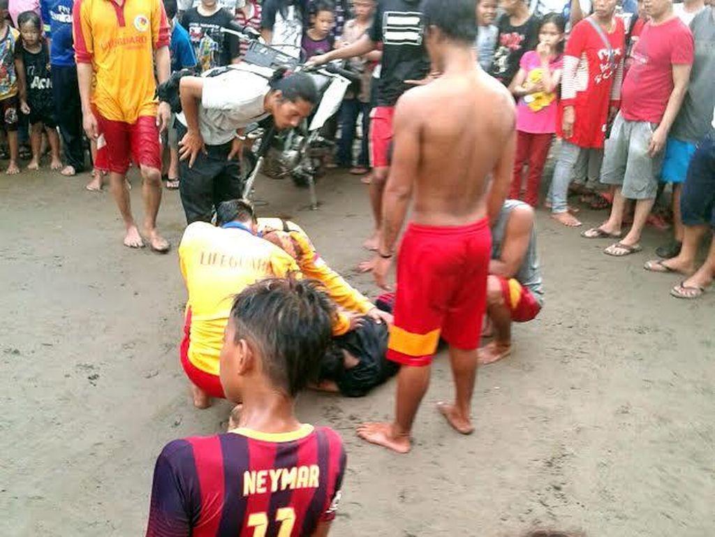 Buat Ortu Awasi Anak Saat di Pantai: Di Sukabumi Seorang Anak Tewas Terseret Ombak