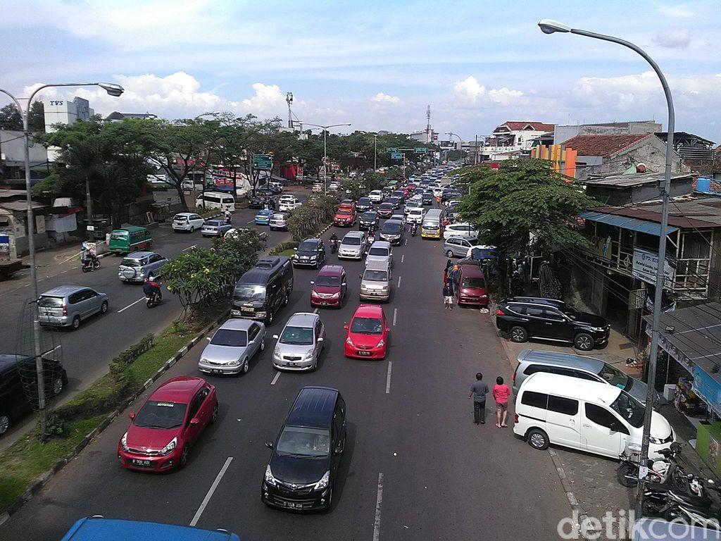 25 Ribu Orang Tinggalkan Kota Bandung Hari Ini