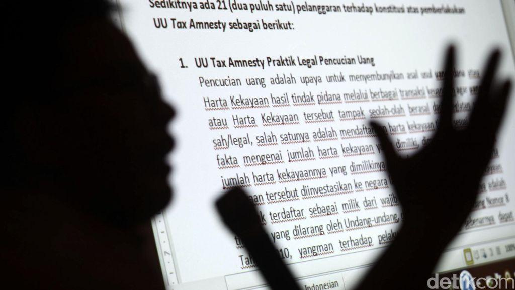 Pengajuan Peninjauan UU Tax Amnesty