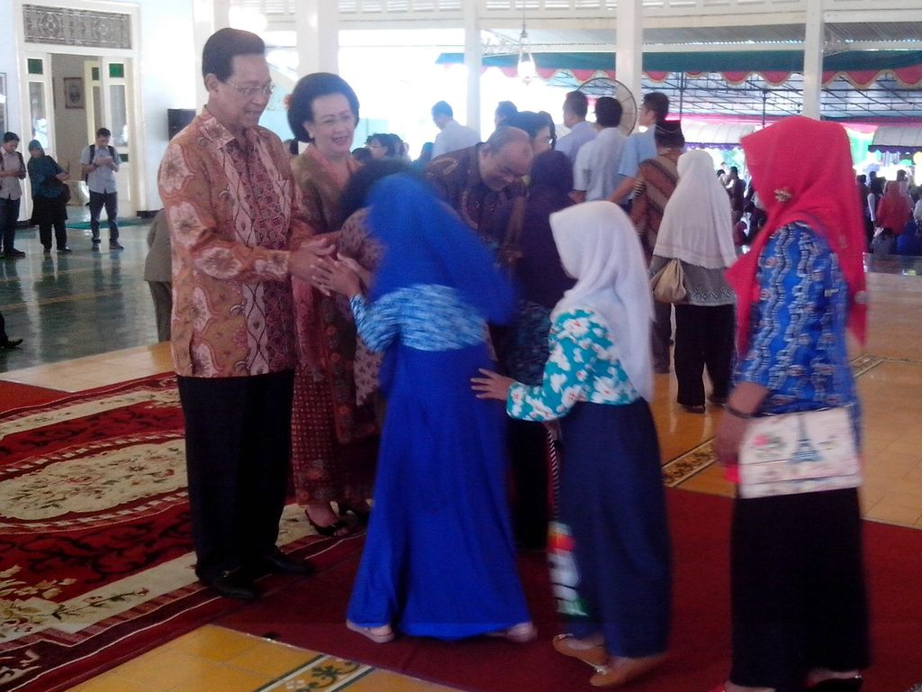 Sri Sultan HB X Gelar Open House