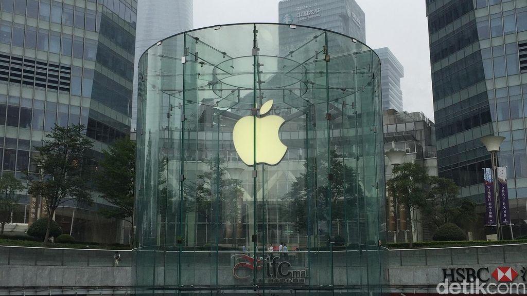 Keramahan di Apple Store Shanghai