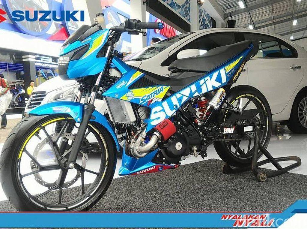 Suzuki Satria Tidak Boleh Kalah dari Honda Sonic