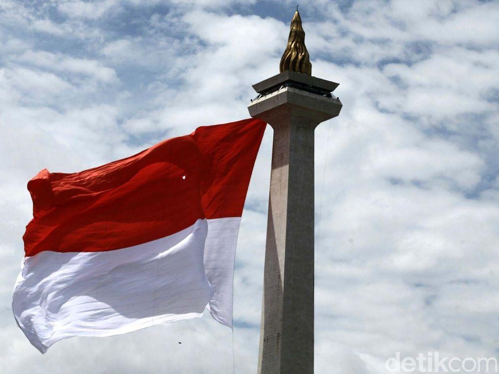 HUT ke-74 Kemerdekaan RI Bertema Menuju Indonesia Unggul, Begini Logonya