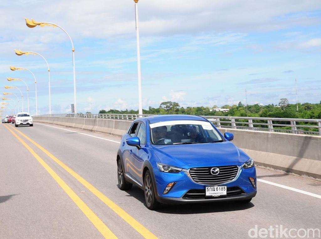 Menjajal Mazda CX-3 di 3 Negara
