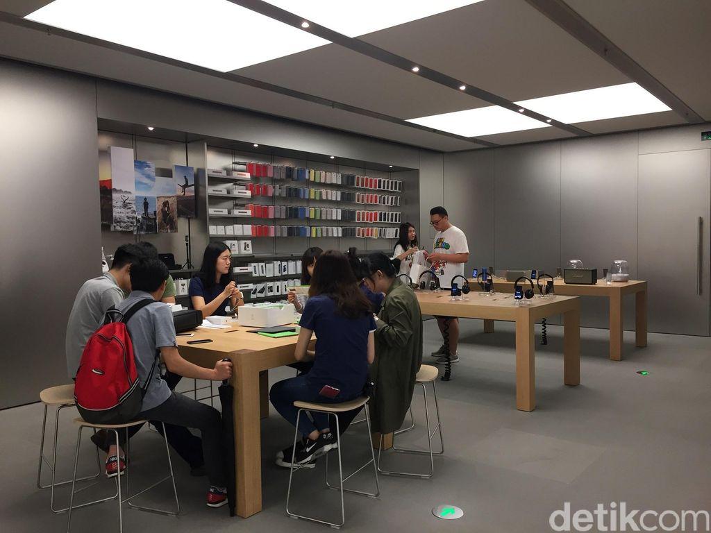 Mulai Membaik, Apple Buka Kembali 42 Tokonya di China