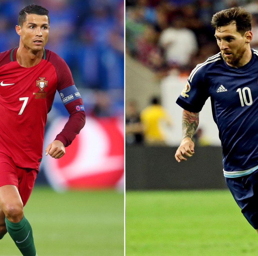 Messi vs Ronaldo Balapan Menuju 50 Hat-trick