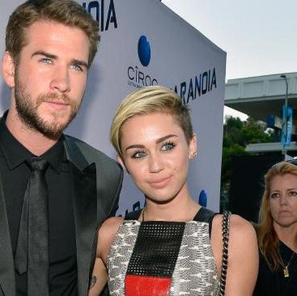 Miley Cyrus Gelar Pesta untuk Ultah ke-27 Liam Hemsworth