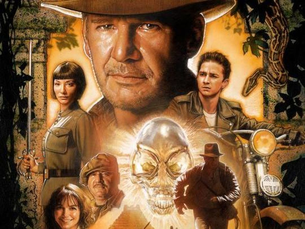 Sinopsis Indiana Jones and the Kingdom of the Crystal Skull