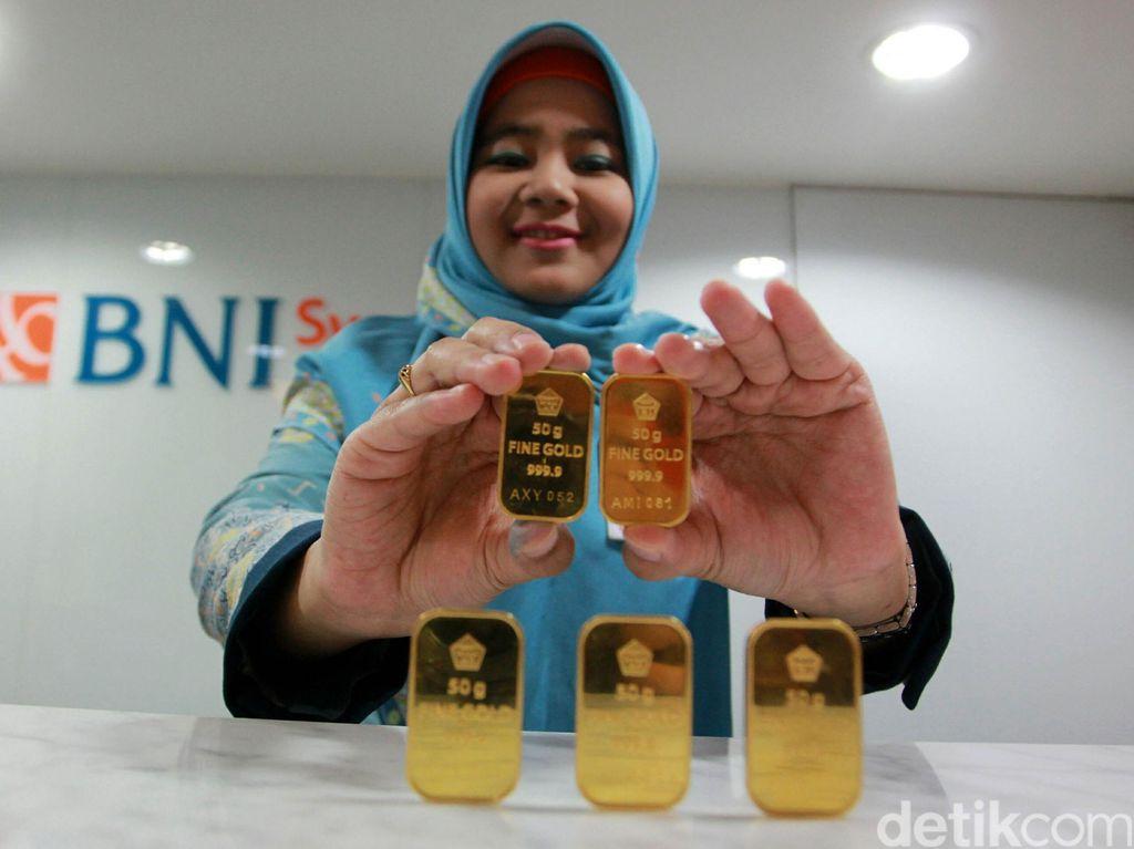 Emas Antam Dijual Rp 656.000/Gram