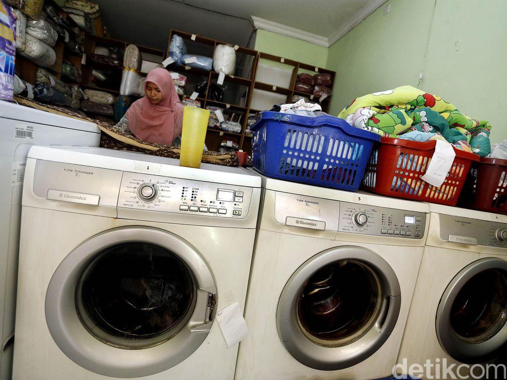 Permintaan Jasa Laundry Tetap Tinggi
