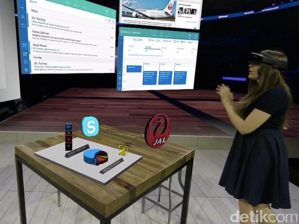 Mulai Dijual, HoloLens Dipatok Rp 39 Juta