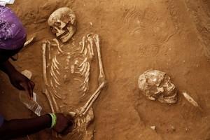 Ditemukan Makam Kuno Orang Filistin di Israel