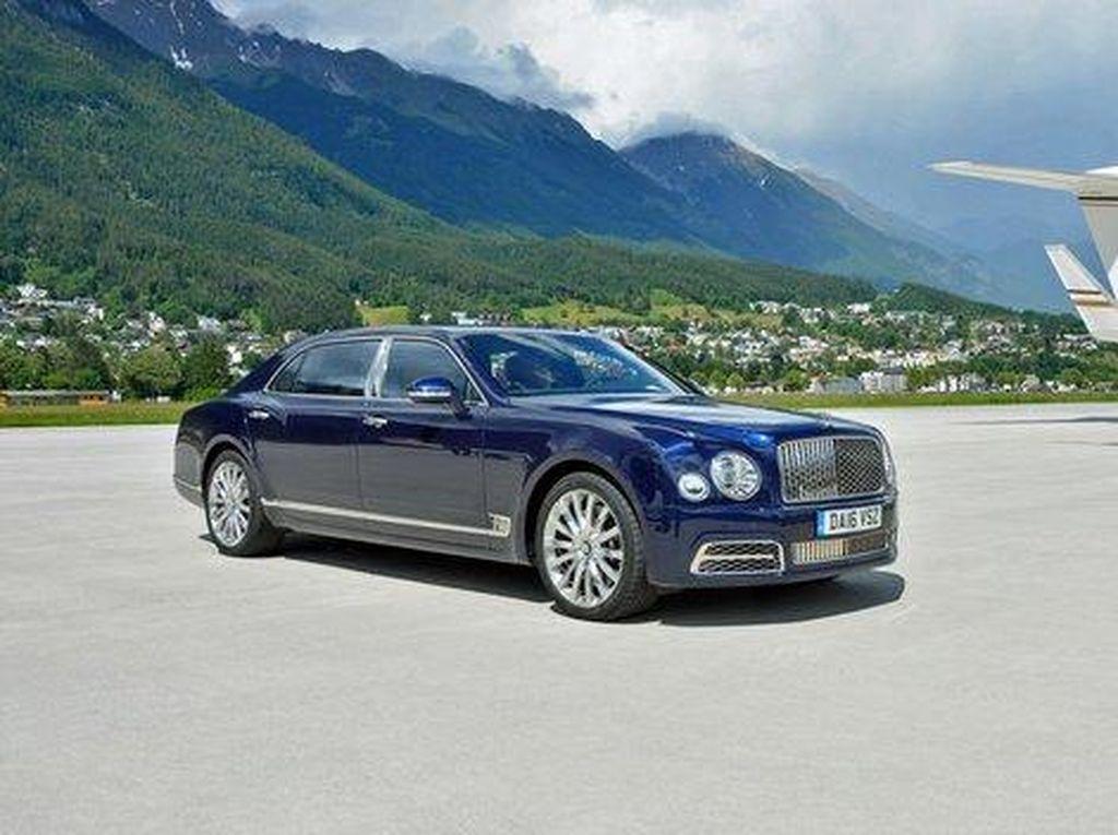 Bentley Akhiri Produksi Mulsane