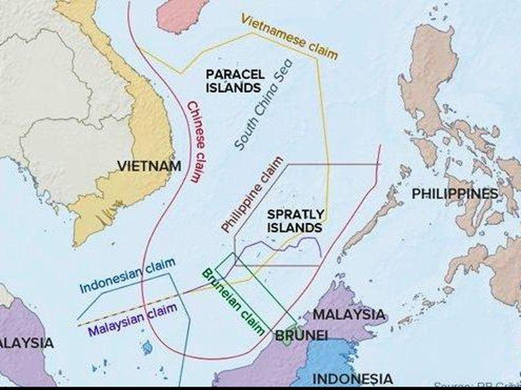 Kultur Strategis China di Laut China Selatan