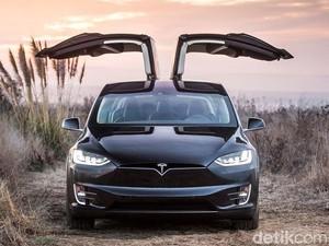 Tesla Model X yang Bakal Meluncur di RI Punya Fitur Autopilot