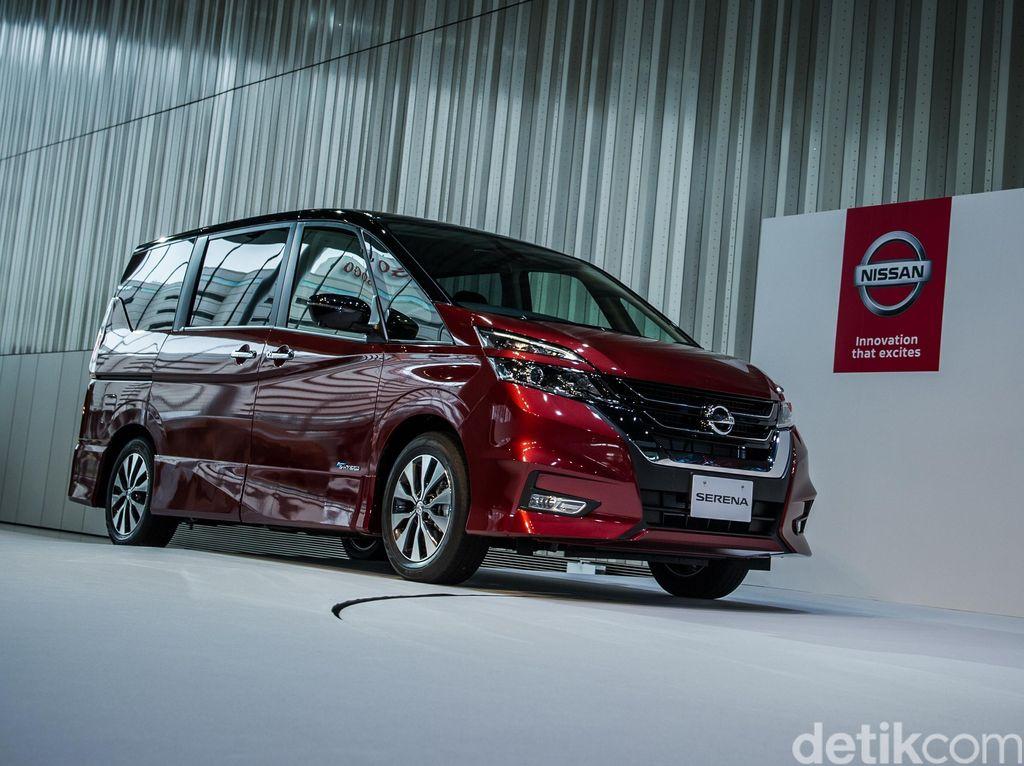 Nissan Optimis All New Serena Lampaui Toyota Voxy