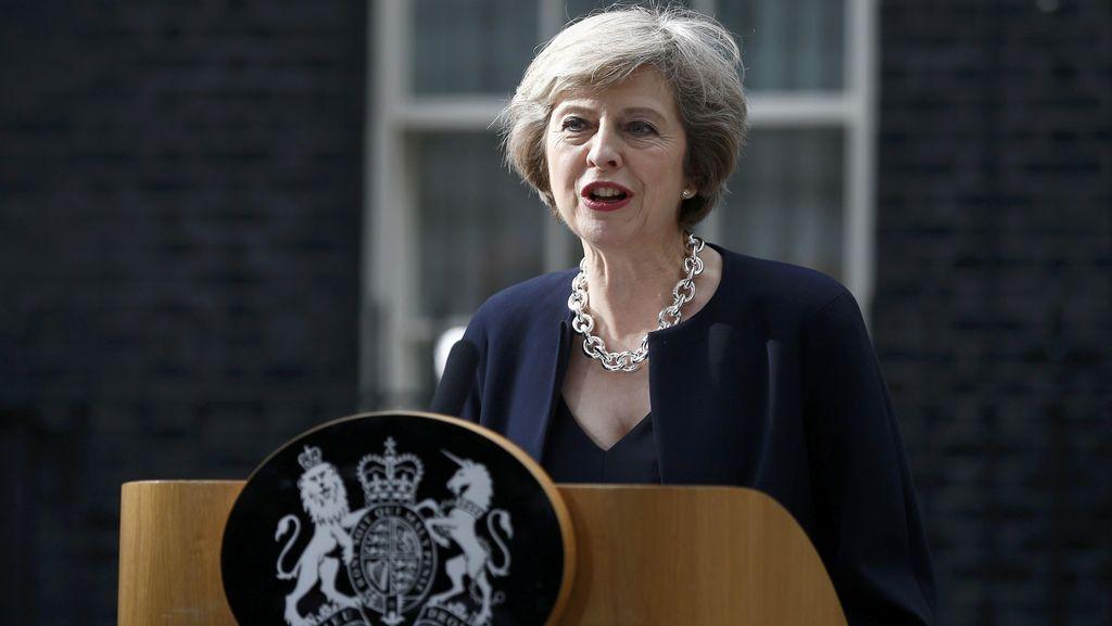 Theresa May Resmi Jadi PM Inggris