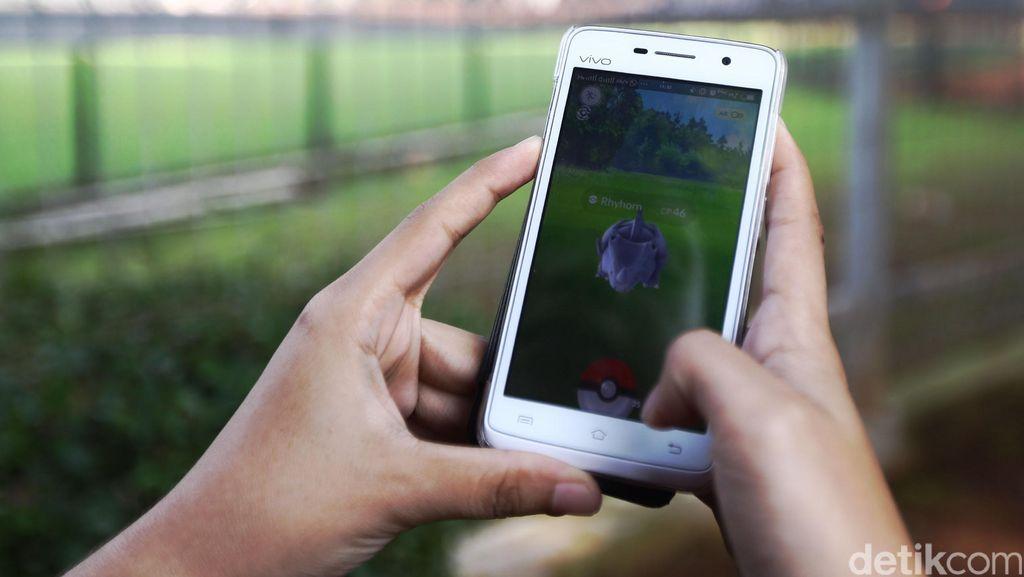 Berburu Pokemon di GBK