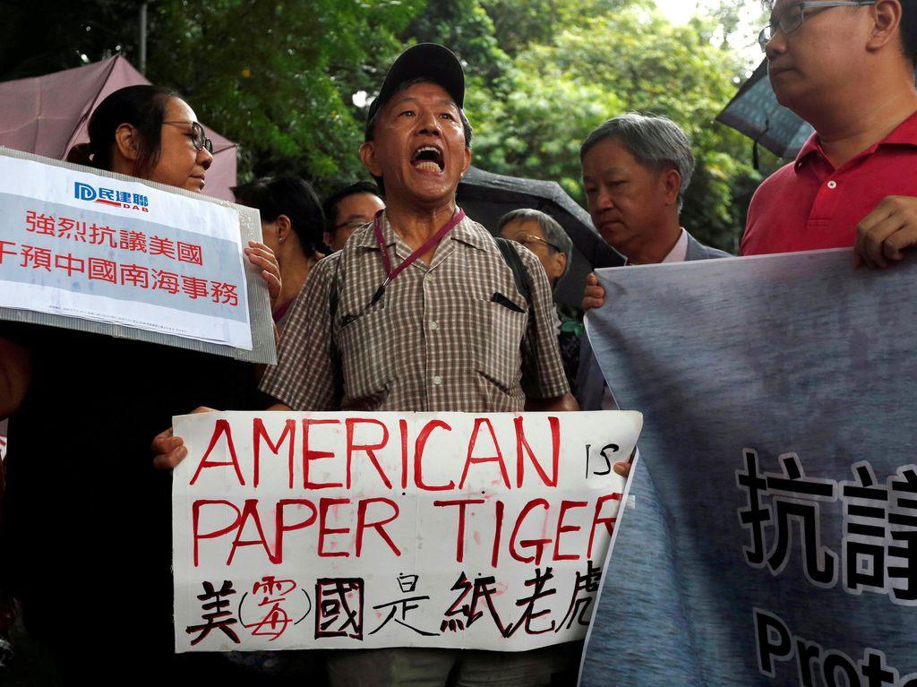 Rakyat China Protes Putusan Mahkamah Arbitrase