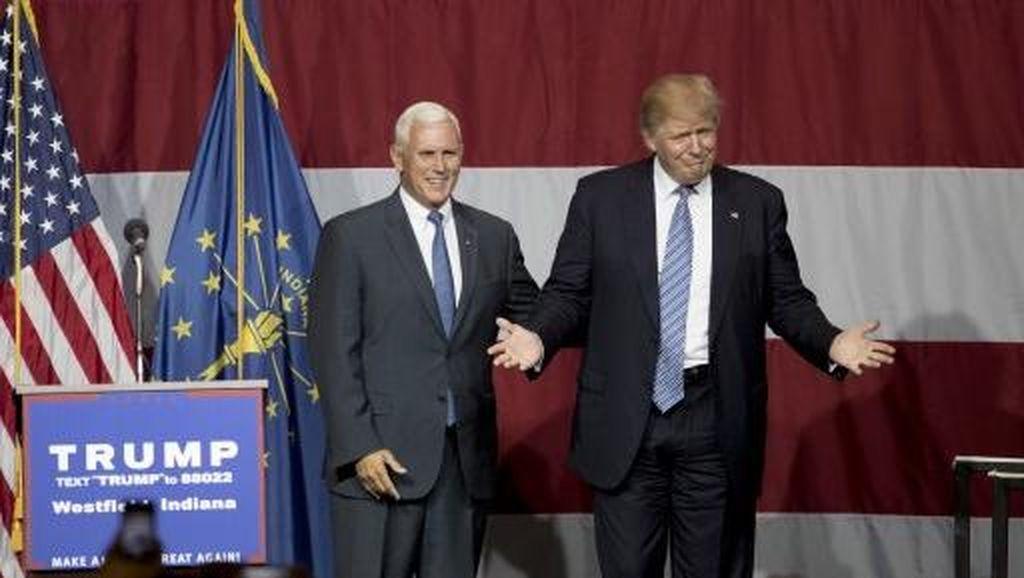 Usai Dilantik di Capitol, Trump Akan Parade ke Gedung Putih
