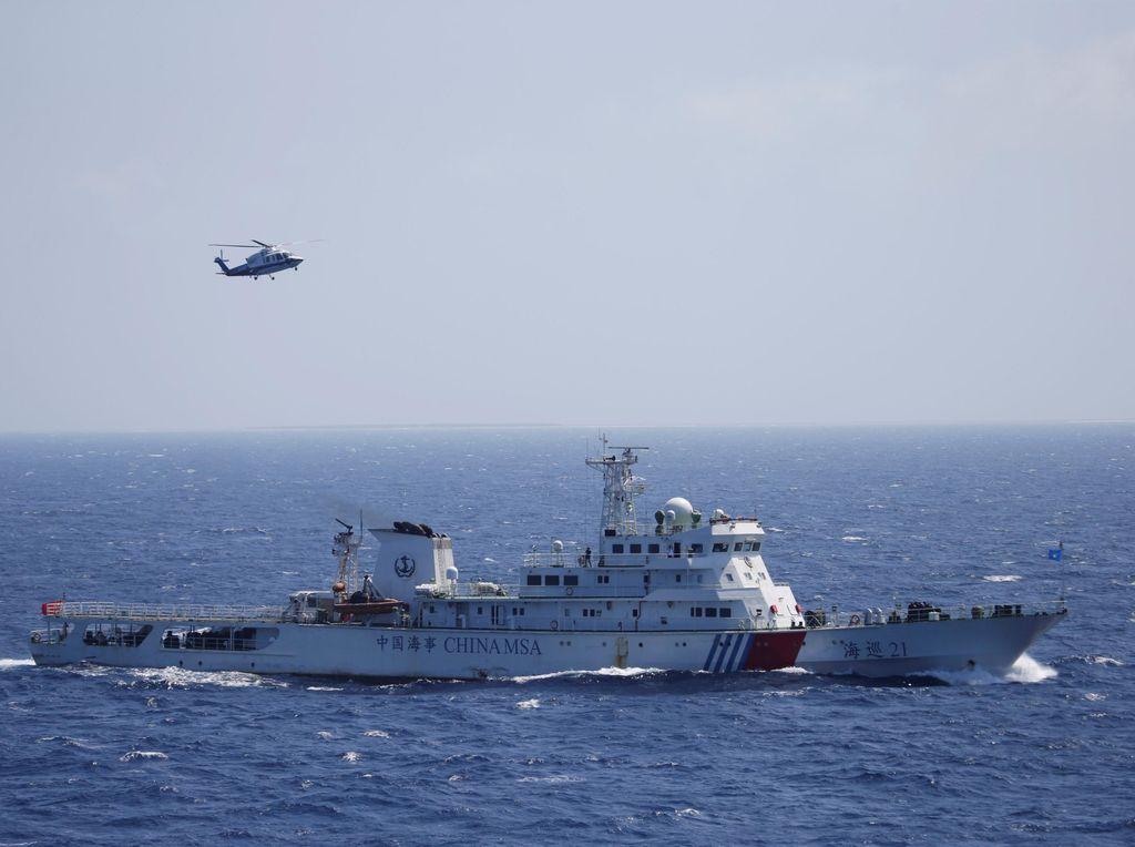 Beijing Protes Manuver Kapal Perang AS di Laut China Selatan