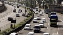 Polda Metro Jaya: Arus Lalu Lintas Arah ke Luar Jakarta Ramai Lancar