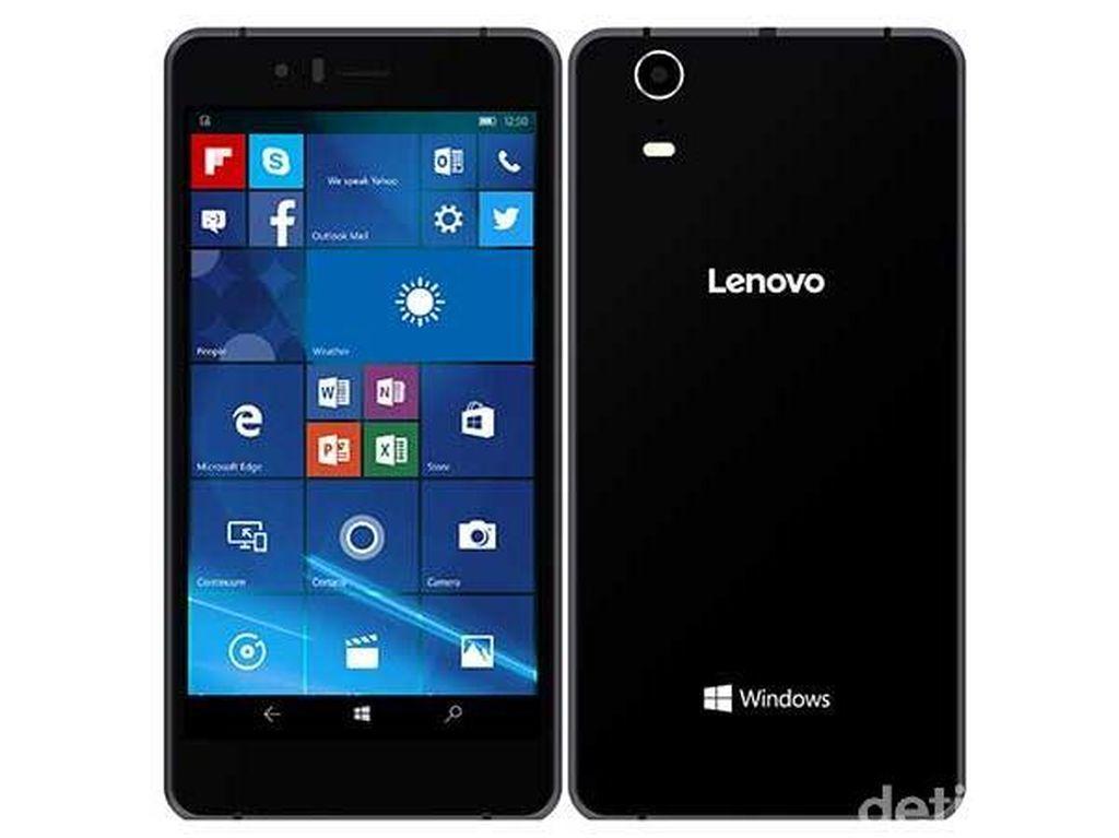Ini Dia Ponsel Windows 10 Pertama Lenovo