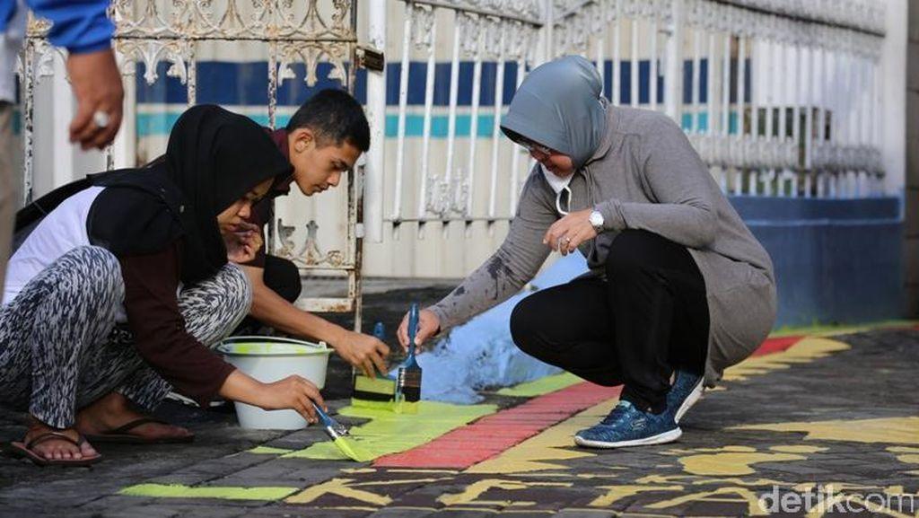 Jelang Konferensi Pemukiman Antar Negara PBB, Kampung Ketandan Bersolek