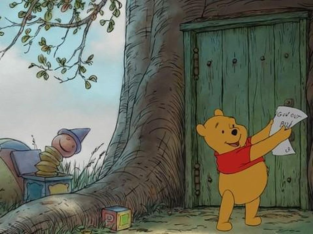 Ini Ilustrasi Pertama Winnie the Pooh yang Belum Diketahui Publik