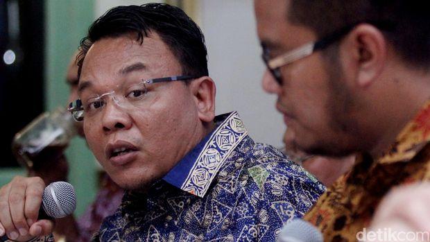 Anggota Juru Debat BPN Prabowo, Saleh Partaonan Daulay.