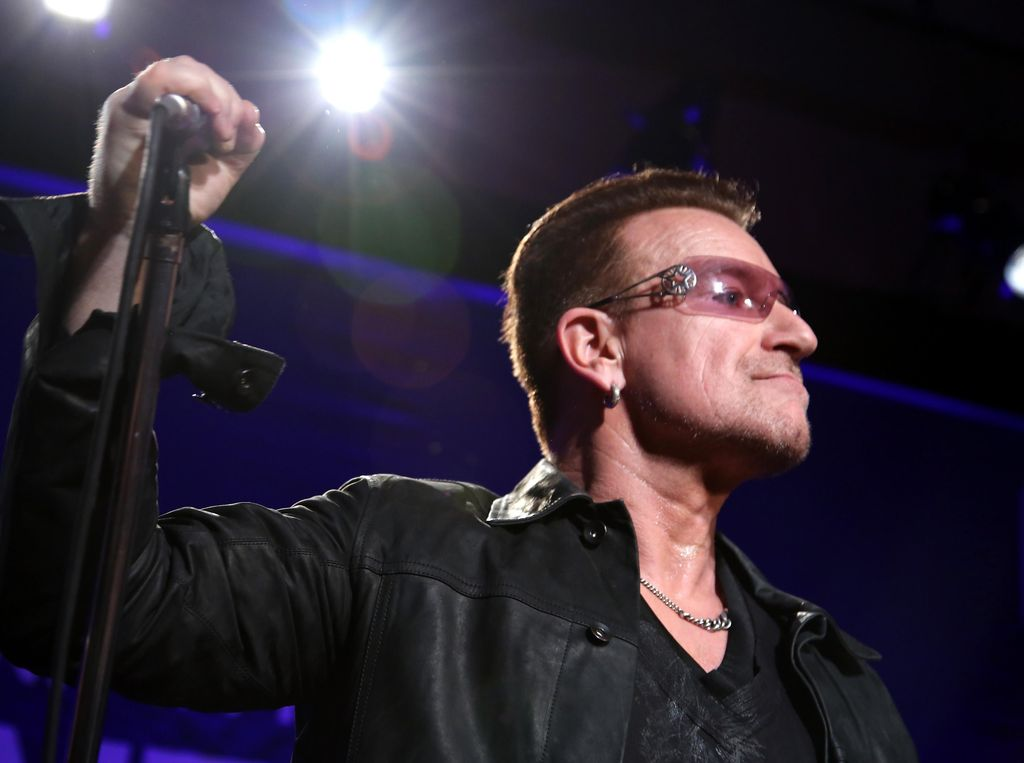 Bono U2 Masuk Daftar Women of the Year Versi Glamour