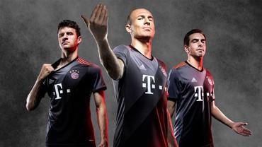 Gradasi Memikat di Seragam Tandang Baru Bayern
