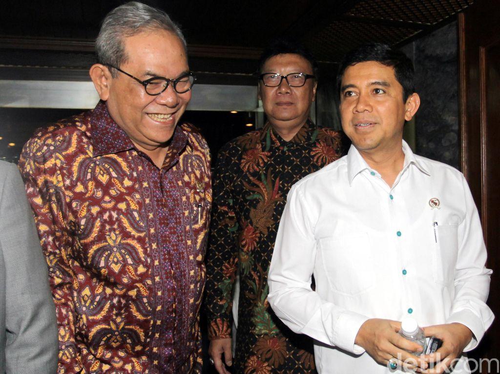 Komisi II Setujui Pagu Anggaran RPABNP 2 Kementerian